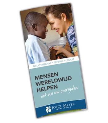 Testamentbrochure Joyce Meyer Ministries