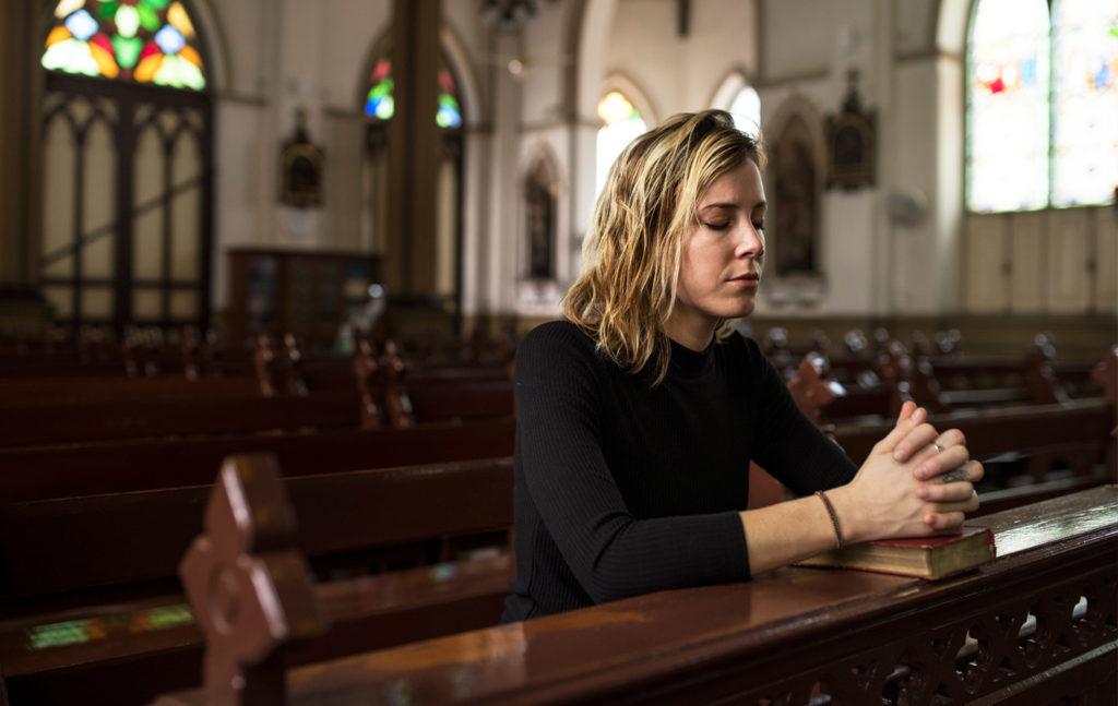 Gebed bidden kerk