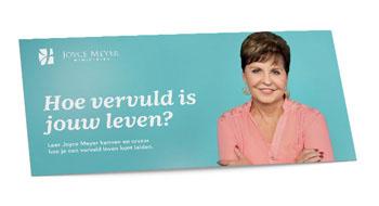 Infobrochure von Joyce Meyer Ministrieds Nederland