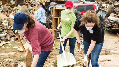 Hulp aan rampgebieden Hand of Hope