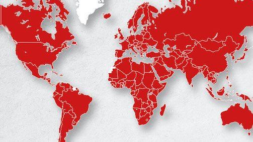 Hand of Hope projecten wereldwijd